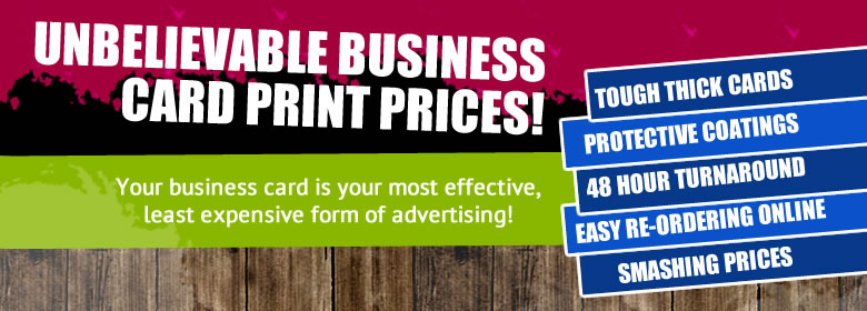 Top notch business card print specials wholesale prices 48 hour business cards mackay business cards business card printing business card design mackay reheart Gallery